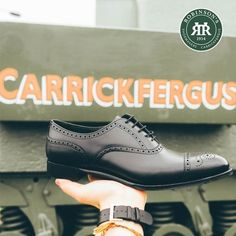 Robinson's Shoemakers was born in Carrickfergus in 1954, and we've stayed true to our roots. Shop the Robinson footwear brand today. . Featured: Robinson Armagh in black calf . #carrickfergus #robinsonsshoes #shoplocal #visitnorthernireland #mensshoes Benjamin Harrison, Men's Shoes, Dress Shoes, Armagh, Andrew Jackson, Shoe Sale, Shoe Brands, Designer Shoes