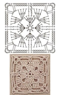 Crochet Square Patterns The Ultimate Granny Square Diagrams Collection ⋆ Crochet Kingdom - The Ultimate Granny Square Diagrams Collection. Crochet Motifs, Crochet Blocks, Granny Square Crochet Pattern, Crochet Diagram, Crochet Chart, Crochet Squares, Crochet Granny, Crochet Stitches, Crochet Patterns