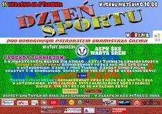 Dzień Sportu w Śremie. 14 września 2014r. więcej na www.sportowy.naszsrem.pl