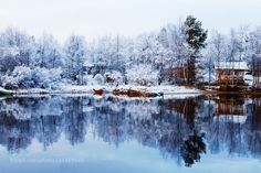 Reflection Lake Inari - Pinned by Mak Khalaf A calm beautiful morning in winter at Lake Inari in the Finnish Lapland Travel arcticcabincalmfinlandinarilakelandscapelaplandphotographyreflectionserenesnowstilltranquilitywhitewinter by rovinglight