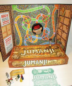 Vintage Jumanji Game 1995 From Film Complete and Excellent Retro Toy by suburbantreasure on Etsy