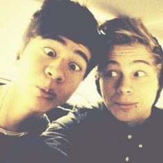 My sister said cake and calum and luke is the first thing that i thought of
