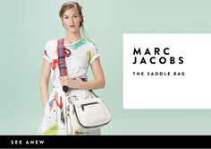 The saddle bag from MARC JACOBS.