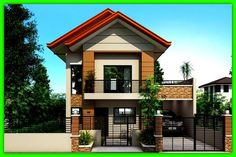 Resultado de imagen para como hace  una  linda fachada de casa