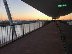 Elbphilharmonie The Westin Hotel Hamburg & 1 Sidewalk, Hamburg, Travel Report, Viajes, Side Walkway, Walkway, Walkways, Pavement