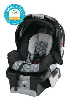 2015 BEST INFANT CAR SEAT Graco SnugRide Classic Connect 30 Infant Car Seat  *BabyCenter Moms' Picks are based on a nationwide survey and online voting on BabyCenter.com that allow parents to voice their opinions about and share their experience with the key products and gear of parenting. BabyCenter does not endorse any specific product.