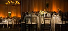 wedding reception decor at Shenendoah Clubhouse, the Story Photography