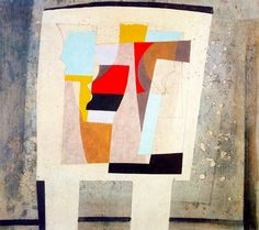 Ben Nicholson. Now I'm going to go and collage