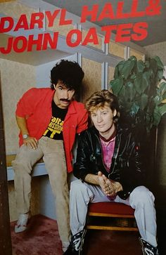 Love Posters, Vintage Posters, 80s Music, Good Music, John Oates, Daryl Hall, Hall & Oates, Classic Rock, Music Stuff