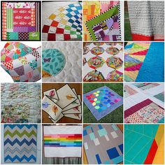 Quilting examples and favorite quilting tutorials with links