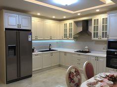 #mutfak #mutfak tasarımı #country mutfak #klasik mutfak #mutfak yemek masası #akrilik tezgah