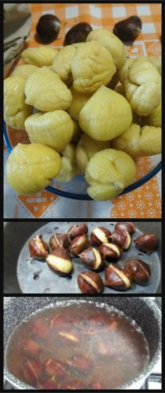 Come sbucciare velocemente le castagne  #castagne #sbucciarecastagne #ricettegustose Nut Recipes, Recipies, Mini Desserts, Mediterranean Recipes, Pretzel Bites, Biscotti, Italian Recipes, Helpful Hints, Good Food