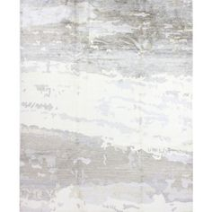 Macy's Fine Rug Gallery, One of a Kind, B596724 Kanti Pars Grey 8' X... ($8,995) ❤ liked on Polyvore featuring home, rugs, no color, hand knotted area rugs, hand knotted rugs, contemporary modern area rugs, modern contemporary rugs and grey rug