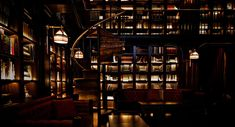 Nomad Hotel // Library Bar