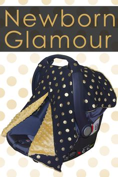 Let you baby girl shine with this glamorous black and gold Carseat Cover http://www.amazon.com/Peekaboo-Carseats-Kids-Such-Fashionable/dp/B015NB8Q1A/ref=sr_1_1?s=baby-products&ie=UTF8&qid=1443033382&sr=1-1&keywords=carseat+canopy