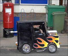 smallest car-looks like a car a minion would drive