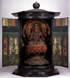 東京国立博物館 - コレクション 名品ギャラリー 彫刻 愛染明王坐像(あいぜんみょうおうざぞう)