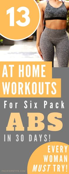 10 minute workout plan for abs that can be done at home consisting of simp 13 Amazing Flat Tummy Exercises Source by pacificpetite The post 13 Amazing Flat Tummy Exercises appeared first on Marilyn Fitness. Flat Tummy Workout, Six Pack Abs Workout, 10 Minute Workout, Abs Workout Routines, At Home Workouts, Ab Routine, Ab Workouts, Ripped Workout, Workout Plan For Men
