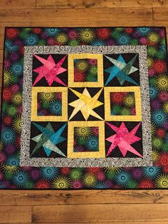 A personal favorite from my Etsy shop https://www.etsy.com/listing/488590080/paper-pieced-star-lap-or-baby-quilt