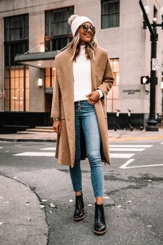 Winter Style // Chic outfit idea this winter.