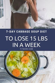 7-day cabbage soup diet to lose 10 lbs in a week. If you are looking to lose weight fast, try this GM diet that's based on cleanse recipe cabbage soup that's set to clear your body and help your body detox and drop pounds in a matter of one week.  #cabbagesoup #cabbagesoupdiet #dietsoup #7daydiet #gmdiet #lose15pounds #StomachFatBurningFoods Best Healthy Diet, Best Diet Foods, Healthy Weight, Healthy Foods, Gm Diet Plans, Diet Meal Plans, Dieet Plan, Cabbage Diet, Cabbage Soup Weight Loss Recipe