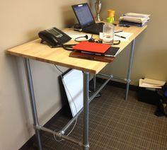 DIY Standing Desk | Flickr - Photo Sharing!