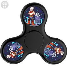 FUY-WG6 Fidget Spinner Undertale Sans And Papyrus Tri-Spinner High Speed Spin - Perfect For ADD ADHD Anxiety and Autism Adult Children - Fidget spinner (*Amazon Partner-Link)