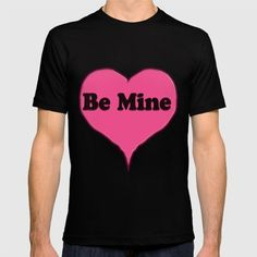 Be Mine Pink Candy Heart shirt https://society6.com/product/be-mine-pink-candy-heart_t-shirt #Society6 #bemine #pinkheart #hearts #graphic #drawing #vector #shirts #design #funny