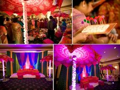 Ornate Indian Wedding Inspiration from NYC: Sabreen and Hamza | OneWed