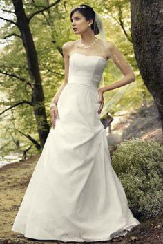 Schulterfreies Brautkleid