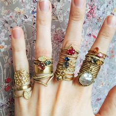 Happy New Year! We're excited for 2015 and all it will bring...starting with some beautiful new stacking rings!