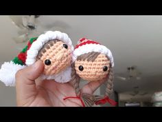 Crochet Christmas Ornaments, Nativity, Crochet Hats, Crafts, Youtube, Crochet Dolls, Holiday Crochet, Holiday Decorating, Christmas Ornaments