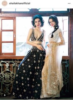 Indian Wedding Outfits, Wedding Attire, Indian Weddings, Ethnic Fashion, Indian Fashion, Wedding Saree Blouse, Girls Together, Indian Wear, Indian Style