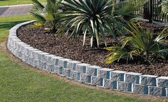 13 Amazing Landscape Border Stone Pic Ideas