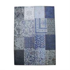 Woontrend True Blue   Karpet Patchwork   Eijerkamp #inspiratie #woontrends #interieur #blauw