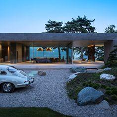Villa D Vaud, Switzerland Grégory Garcia Architect Residential Architecture, Contemporary Architecture, Interior Architecture, Contemporary Design, Design Hotel, Design Design, Modernisme, Modern House Design, Exterior Design