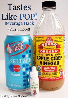 10 Healthy Beverage Options & Drink Hacks • Healthy Helper [low-calorie, drinks, healthy drinks, recipes, roundup, drink hacks]
