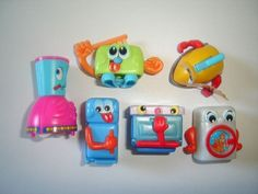 Kinder Surprise Set Kitchen Gang Home Appliances Toys Figures Collectibles | eBay