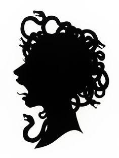 Medusa Metal Wall Table 2 by EvimIsterse on Etsy Women In Greek Mythology, Greek Gods, Medusa Art, Medusa Gorgon, Creepy Little Girl, Black Art Tattoo, Halloween Stencils, Girl Silhouette, Halloween Images