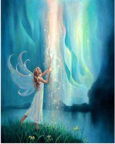 Je bent nooit alleen. Altijd zijn er engelen bij je jou te helpen met je ontwikkelingen :-)