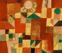 Paul Klee - Sonnengold