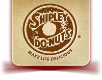 Shipley Donuts, one of many great Do-Nuts to be found in Texas. Lord, thank you for having all of those German bakers settle there.