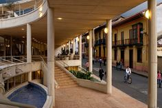 """Centro-Cultural-Gabriel-García-Marquez---Germán-Montes, via Flickr. Bogota photo gallery """"We 'pin in 53 crazy cities wide"""" #thecrazycities.com #crazybogota.com #Bogota #travel #crazy #cities #city #picture #places with #love from #crazyAtlanta #happy #like and #follow us >want to be 'pin or shoutout? Send info crazyocu@gmail.com Spanish Pronunciation, Picture Places, Santa Fe, Amazing Places, The Good Place, Photo Galleries, Street View, Culture, City"""