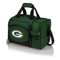 The Picnic Time NFL Licensed Green Bay Packers Picnic Cooler is the most convenient go-anywhere picnic pack. Features an insulated and two section for two bottles and a removable water-resistant liner in the food storage area.