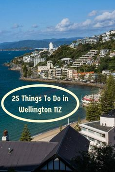 A view of Wellington New Zealand seen while hiking up Mount Victoria. It's one of 25 things to do in the capital of New Zealand. Read the article to discover the others.  via @Rhondaalbom