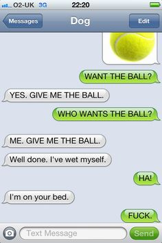 Texts from the Dog.  So funny!