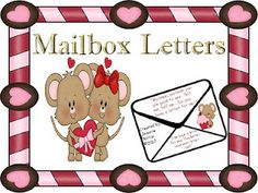 Mailbox Letters Freebie