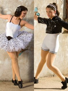 One and the Same - Style 0425   Revolution Dancewear All-in-One Dance Recital Costume
