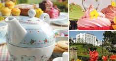 """Tumble down the rabbit hole"" and enjoy the wonderful Mad Hatter's Afternoon Tea Party at The Westcliff Hotel Southend on Sea."