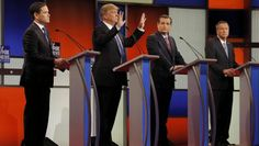 Check to see who the Republican debate Thursday night.   There is a lot of criticism of the tone of last night's GOP debate. It has focused on the flash of vulgarity and the candidates shouting over each other.